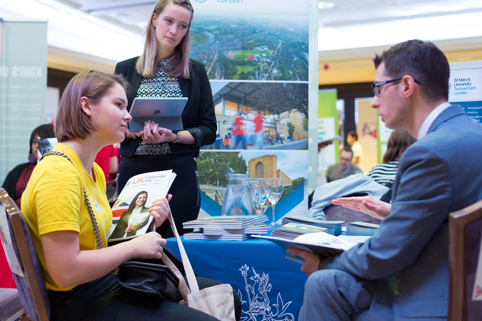UK University Fair 2016