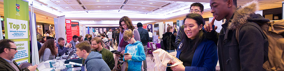Thank you to all who attended and took part in the UK University Fair